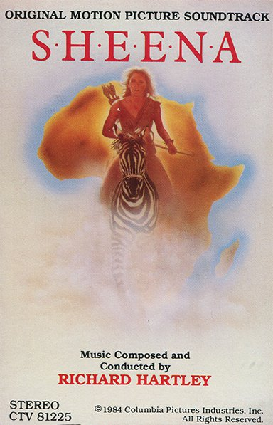 Sheena (1984) - Original Soundtrack, Richard Hartley OST Tape/CD