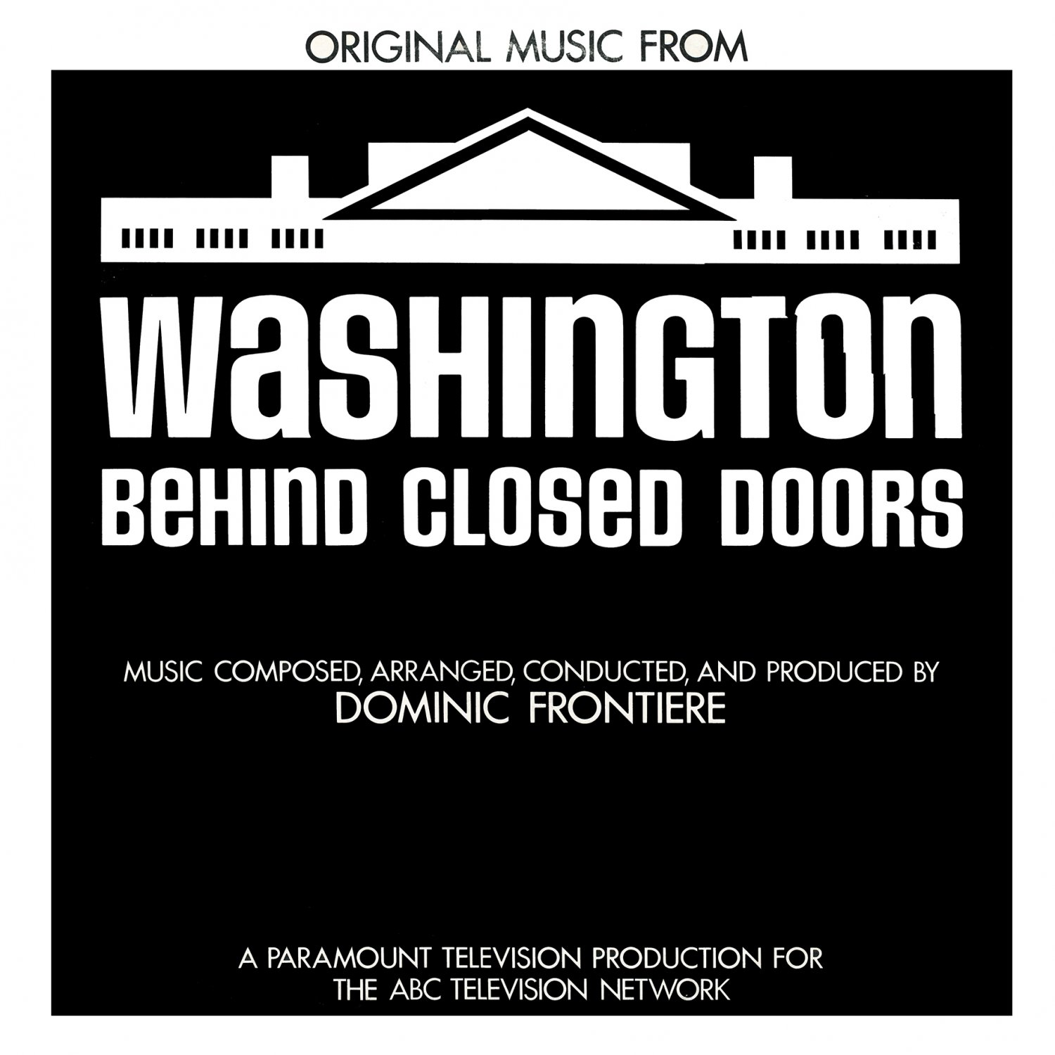 Washington Behind Closed Doors - Original Soundtrack Dominic Frontiere OST LP/CD  sc 1 st  Svoundtrack - eCRATER & Washington Behind Closed Doors - Original Soundtrack Dominic ...