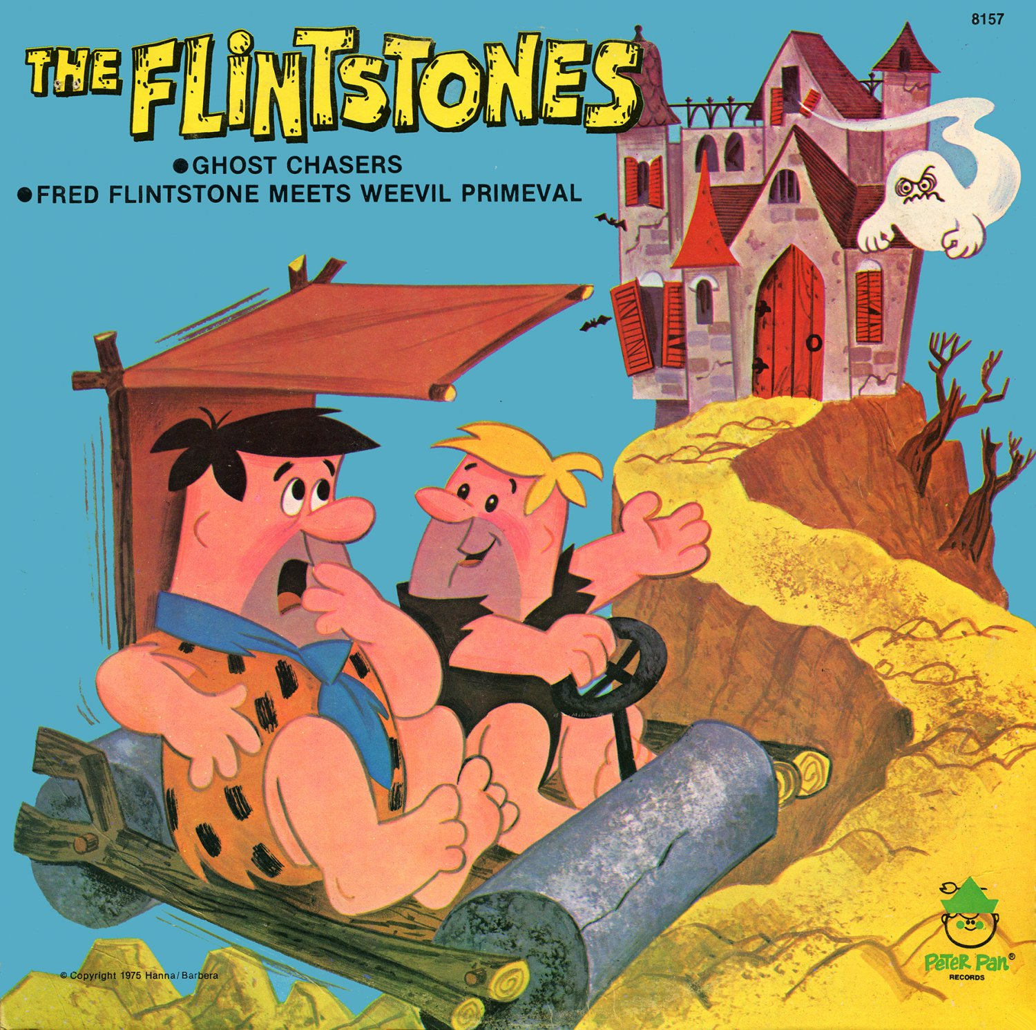 The Flintstones - Ghost Chasers/Fred Flintstone Meets Weevil Primeval, Story Collection LP/CD