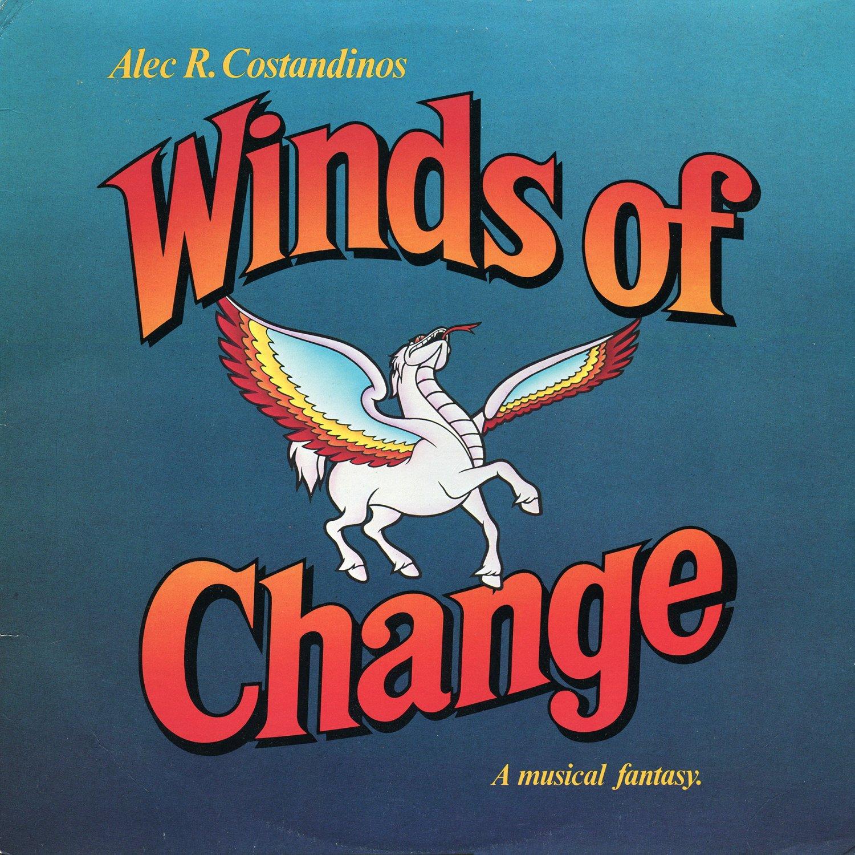 Winds Of Change, A Musical Fantasy - Original Soundtrack, Peter Ustinov OST LP/CD