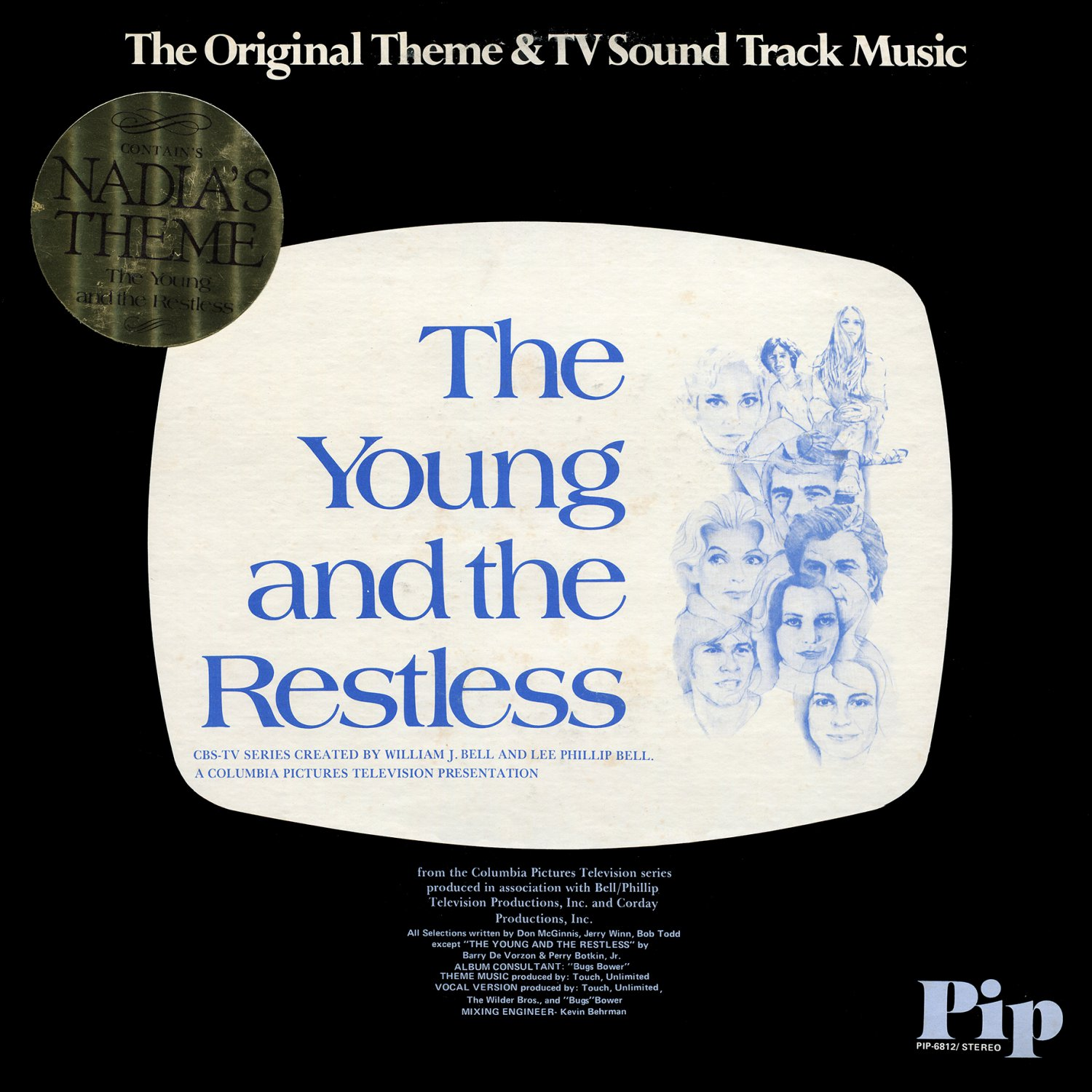 The Young And The Restless (1974) - Original TV Soundtrack, Barry De Vorzon OST LP/CD