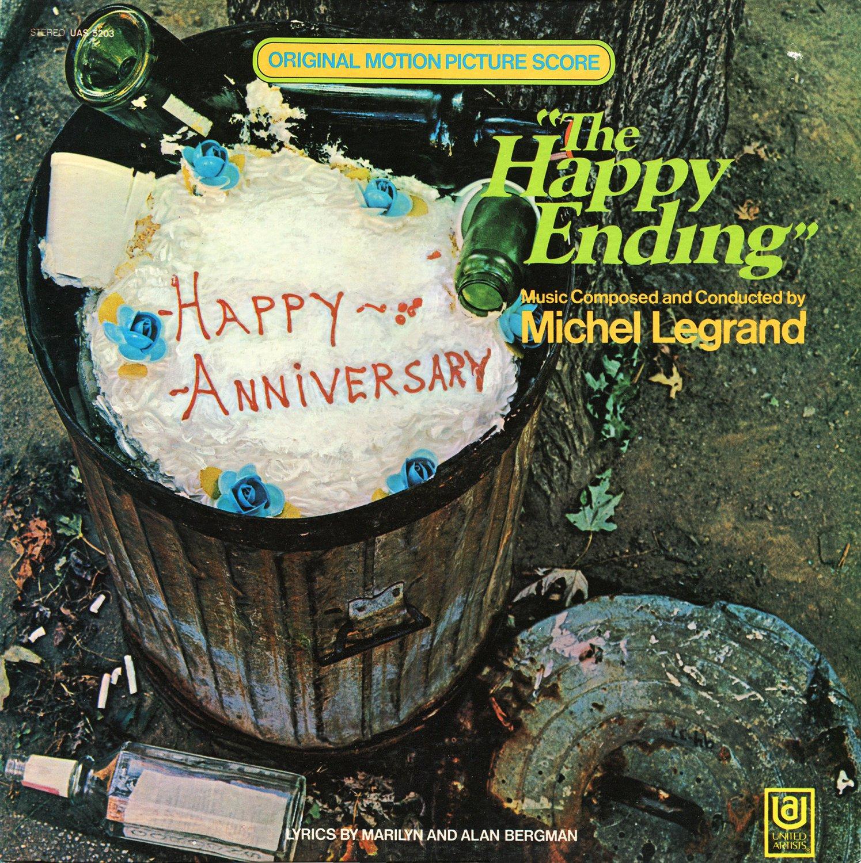 The Happy Ending (1969) - Original Soundtrack, Michel Legrand OST LP/CD
