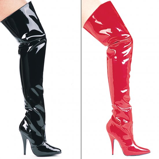 "Ellie Shoes 5"" THIGH HIGH BOOTS"