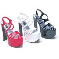 """Ellie Shoes 6.5"""" Heel Strapp Sandal Dreamer"""