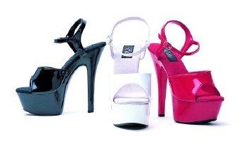 "Ellie Shoes 6"" Juliet Stiletto Heels"