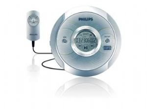 Philips Exp2581 Portable Cd Player W/ Mp3 ~ Refurbished