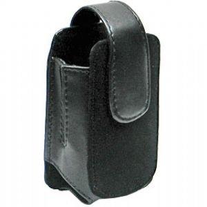 Di Moda Pouch Motorola V400 Black Leather With Suede Vertica