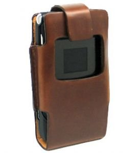 Pouch Motorola Razr V3 Vertical With Window Brown