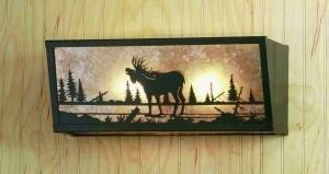 Vanity Light/moose