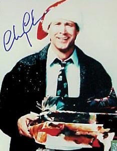 Chevy Chase Signed 8 X 10 Photo (christmas Vacation)