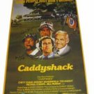 Chevy Chase & Cindy Morgan & Michael Okeefe Triple Signed Caddyshack Poster