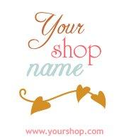 Brown, Pale Blue, Padparadscha Leaves Logo Design