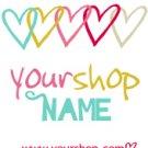 Colorful Linked Hearts Logo Design