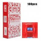100 Pcs/lot Best Quality Thin Condoms Silicone Condom for Men