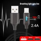Smart Power Off Charging Cable For Phone Auto Power-off Protection Cord