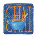 Chai in a Blue Cup - small art