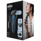 New Braun Series 6 60-B7200cc Wet & Dry Shaver with SmartCare Center and 1 Attachment