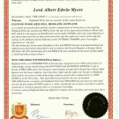 Become Glencoe HighlandTitles Lord, Lady or Laird Title with 1 Sqft Plot (PDF ONLY)