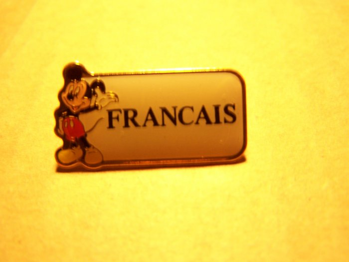 Disney - Cast Member Language Pin (French)