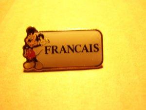 Disney - Cast Member Language Pin (French)