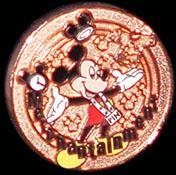 Disney cast member exclusive copper merchantainment award pin