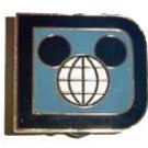 Disney pin exclusive Retro D WDW pin, very rare and HTF 6/2006