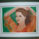 Christine ARTIST Original Oil Paintings PAULINA* Signed