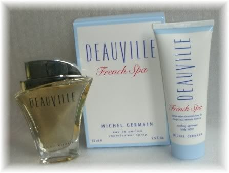 MICHEL GERMAIN DEAUVILLE French Spa Perfume/Lotion