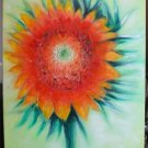 Christine ARTS Original Oil Paintings SUNFLOWER Signed
