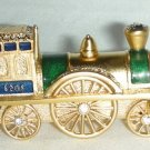 ESTEE LAUDER ANTIQUE TRAIN* Crystal Collectible Compact