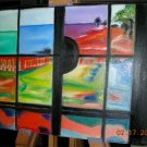 Christine ARTIST Original Oil Paintings COLORS WINDOWS