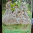 Christine ARTS Original Oil Paintings SUMMER AFTERNOON
