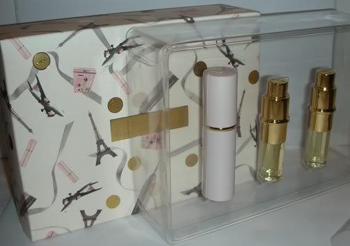 LOVELY SARAH JESSICA PARKER Refillable Perfume 3x 10 ml Travel Purse Spray NIB!