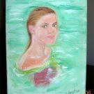 Christine ARTS Original Oil Paintings *GRACEFUL KELLY* Signed 2007