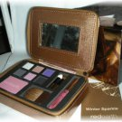 RED EARTH Cosmetics Eyeshadow Blush Lip Brush Makeup Palette NIB!