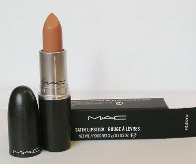 MAC PRO Satin Lipstick PEACHSTOCK Creamy Beige Peach M.A.C Cosmetics NIB