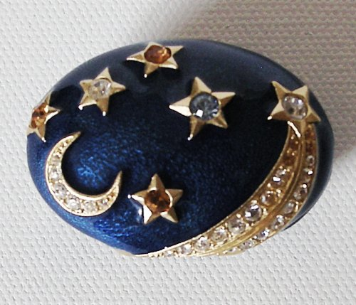 ESTEE LAUDER STRONGWATER Starry Night Sensuous Nude Solid Perfume Compact NIB!