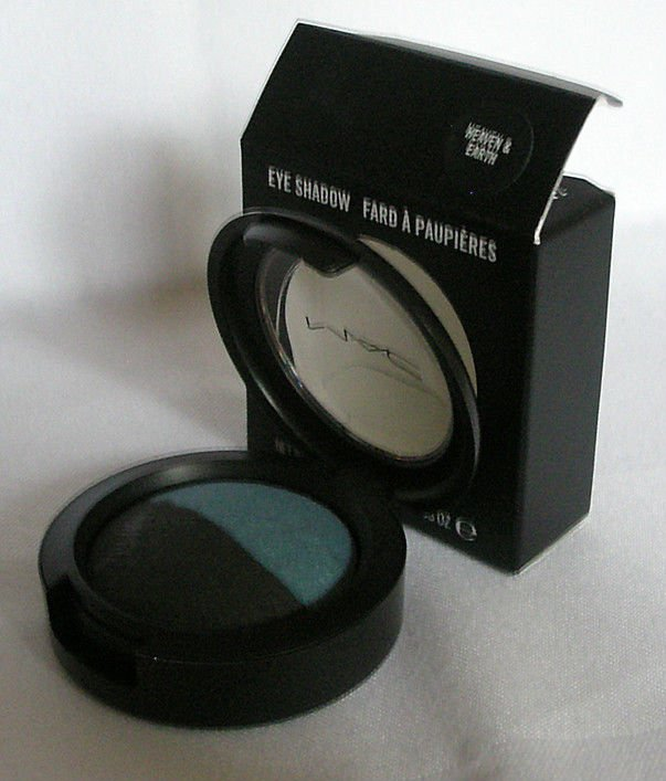 MAC Mineralize Eyeshadow Duo HEAVEN & EARTH Eye Shadow M.A.C Cosmetics NIB!