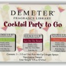 DEMETER FRAGRANCE Cocktail Gin & Tonic Fuzzy Navel Sex  On The Beach x3 NIB!