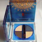 ELIZABETH ARDEN COLOR INTRIGUE Eyeshadow Quad Amber Sand Dune Blue Palette NIB!