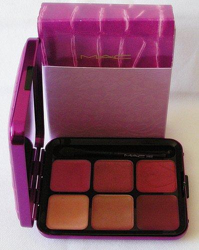MAC SEDUCTIONS: 6 Lip Cool Kit Lipstick Lip Gloss Palette M.A.C Cosmetics NIB!