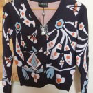CHANEL 2015 Cashmere Sweater Vibrant Multi-Color Size 38 Italy NWOT!
