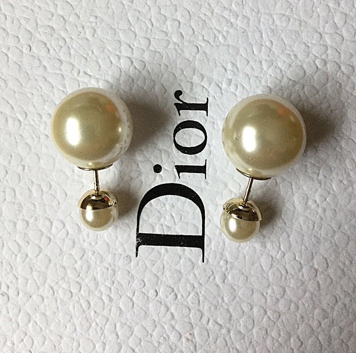 DIOR TRIBALE Mise en Dior Tribal Earrings ORIGINAL Classic