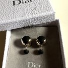DIOR TRIBALE Mise en Dior TRIBAL Earrings BLACK TULIP SOLD-OUT!