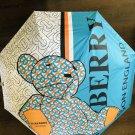 Umbrella Burberry Folding Check Compact  Windproof Rain Print Sun Lot Multicolor