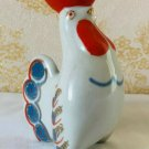 Ceramic Rooster Figurine Vintage Russian Limited Edition Decoration Art