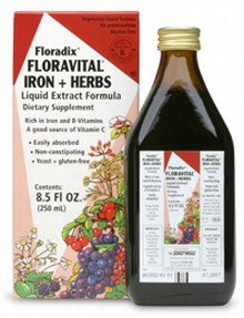 Floravital Iron & Herbs (yeast free) - Rich in Iron & B Vitamins