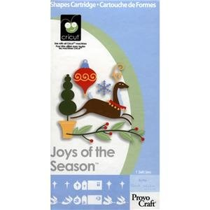 Joys of the Season Cartridge for Cricut Expression & CriCut Personal Cutter