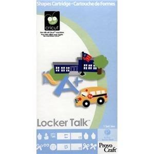 Locker Talk CriCut Cartridge for Cricut Expression & CriCut Personal Cutter