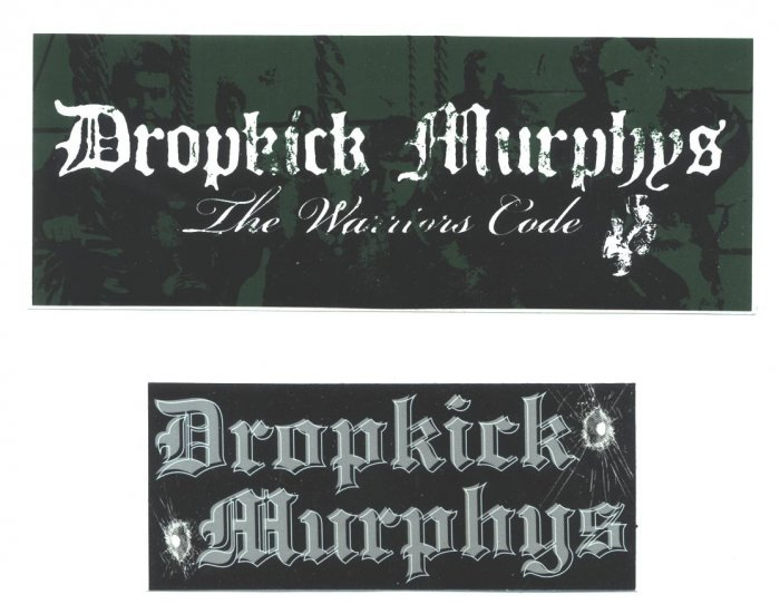 Dropkick Murphys Promo Stickers